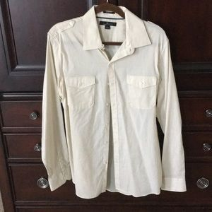 Men's Gently Used Marc Anthony Button Up Shirt